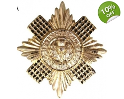 Scots Guards Beret Cap Badge