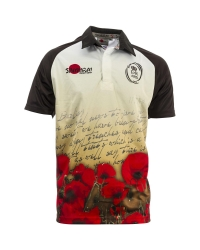 "Army Rugby ""Letter Poppy"" Shirt"