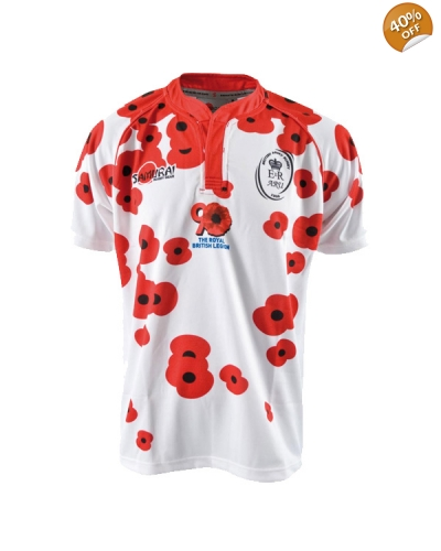 "Army Rugby ""Poppy"" Shirt"