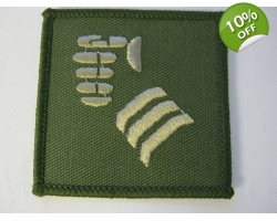 20th Armoured Brigade Olive Velcro TRF