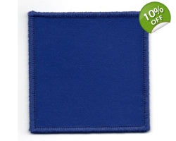 2 Para Blue D-Z Flash - Velcro Backing