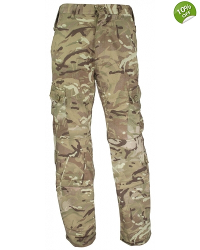 British Army Style Camo Combat Trousers