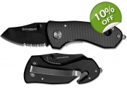 Magnum Compact Black Rescue Knife