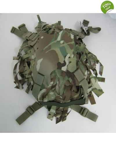 Multicam MOLLE Helmet Carrier