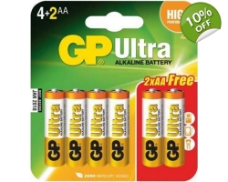 GP Ultra AA Batteries