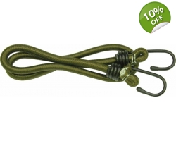 Olive Bungee 10 mm x 60 cm PAIR