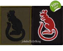7th Armoured Brigade Velcro Flash