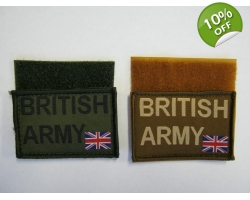 British Army Velcro Patch
