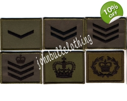 Commando Rank Square - Velcro