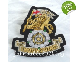 Yorkshire Regiment Blazer Badge