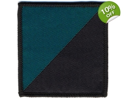 Royal Irish Regiment Velcro D-Z Flash