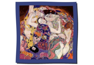 Silk scarf: Gustav Klimt, The Virgin
