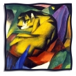 Silk scarf: Franz Marc, The Tiger