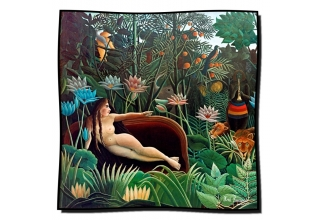 Silk scarf: Henri Rousseau, The Dream