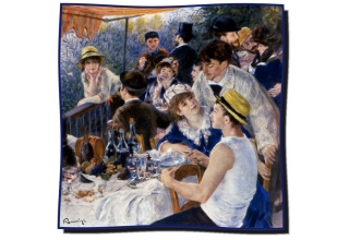 Silk scarf: Pierre-Auguste Renoir, The Luncheon Of The Boating Party