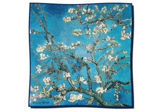 Silk scarf: Vincent Van Gogh, Blossoming almond-branches