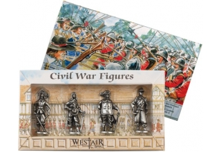 Set of 4 Civil War Figures in Box