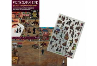 Victorian Life Transfer Pack