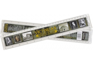 Victorian History Ruler - 30cm