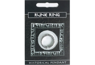 Rune Ring - Pewter