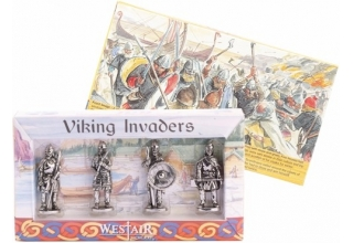 Set of 4 Vikings in Box