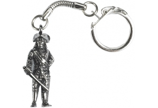 Pirate Figure Keyring