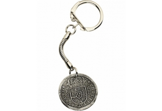 Pirate Treasure Keyring