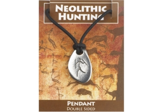 Neolithic Hunting Pendant - Bison