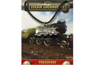 Steam Locomotive Pendant