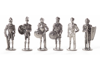 Knights, Set of 6 Figurines