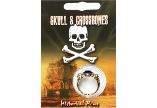 Pirate Gem Ring - Gold Plated