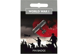 World War I Bi-Plane Pin Badge