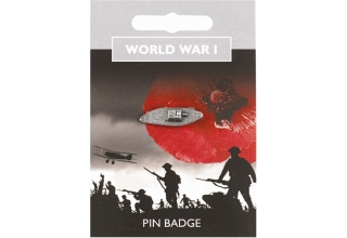 World War I Tank Pin Badge