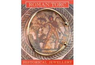 Roman Torc - Gold Plated