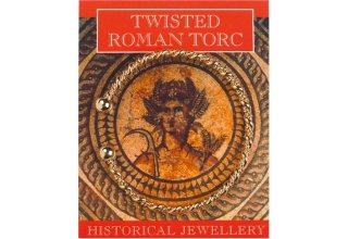 Roman Twisted Torc - Gold Plated
