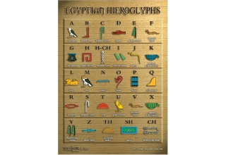 Egyptian Hieroglyphic Poster - A3