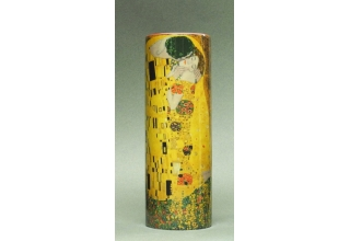 Gustav Klimt Vase, The Kiss