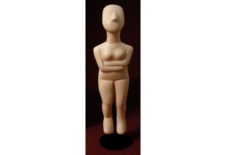 Female Figurine of the Cyclades 1, Replica