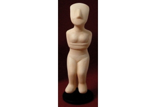 Female Figurine of the Cyclades 2, Replica