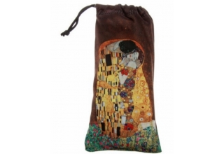 Glasses Sunglasses Pouch: Gustav Klimt, The Kiss
