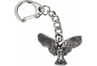 Owl in Flight Key-Ring