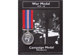 WAR MEDAL MINI REPLICA