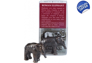 Elephant Bronze plated