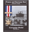 France and Germany Star - Miniature Replica Campaign Model