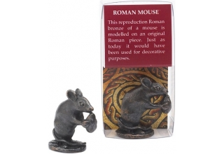 Mouse Bronze plated