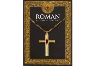 Cross from Byzantium Gold Plated