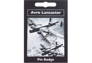 Avro Lancaster Pin Badge - Pewter