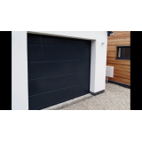 Modern Ribbed sectional door