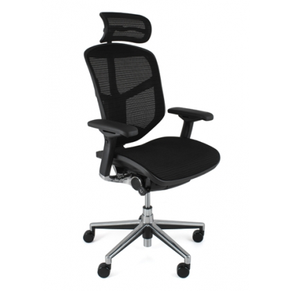 Enjoy Elite Mesh office chair with adjustable headrest