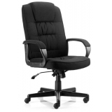 Executive high back office chair with ..